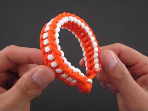 How To Make A Tomahawk Sinnet Paracord Bracelet By Tiat