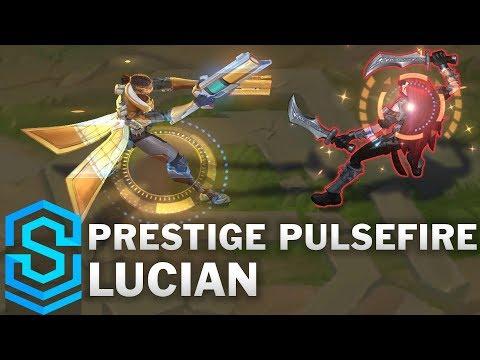 Prestige Pulsefire Lucian Skin Spotlight - Pre-Release - League of Legends