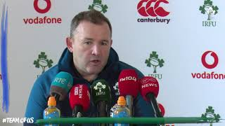 Irish Rugby TV: Richie Murphy's Squad Update
