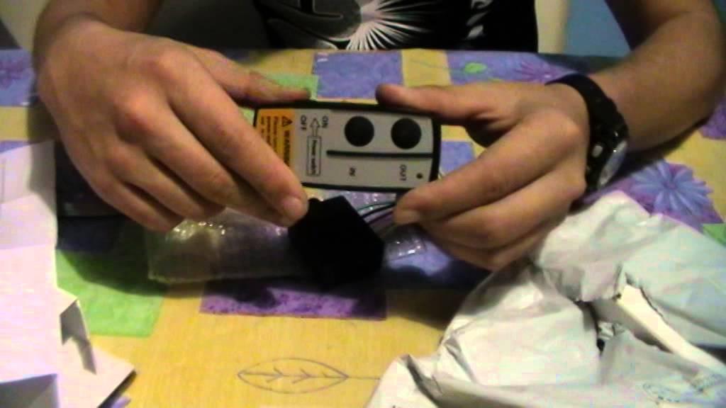 Стандартный пульт управления лебедкой