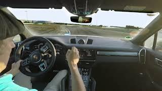 01 The Porsche Cayenne Turbo S E Hybrid sets an unusual lap record