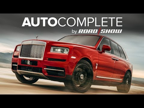 AutoComplete: 2019 Rolls-Royce Cullinan makes its debut