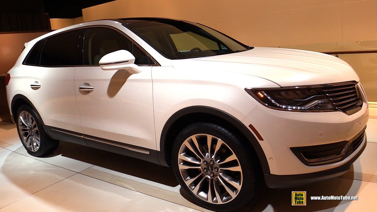 2016 Lincoln MKX EcoBoost - Exterior, Interior Walkaround - Debut at ...