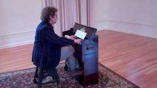 Ricercare on a Yamaha reed foot pump organ