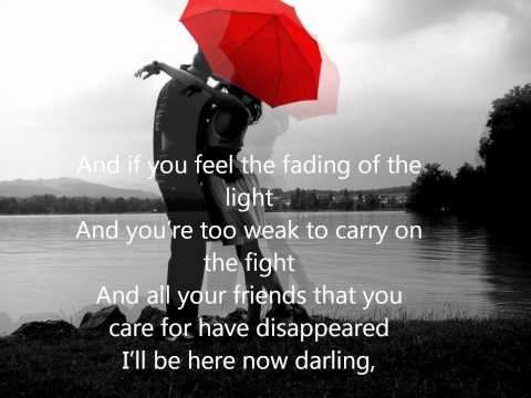 James Morrison- I wont let you go with Lyrics (HQ)