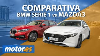Mazda 3 vs BMW Serie 1 | Comparativa / Prueba / Review | ¿cuál es mejor?