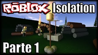 Playing Roblox-Isolation-Part 1 (Ft. Godenot)