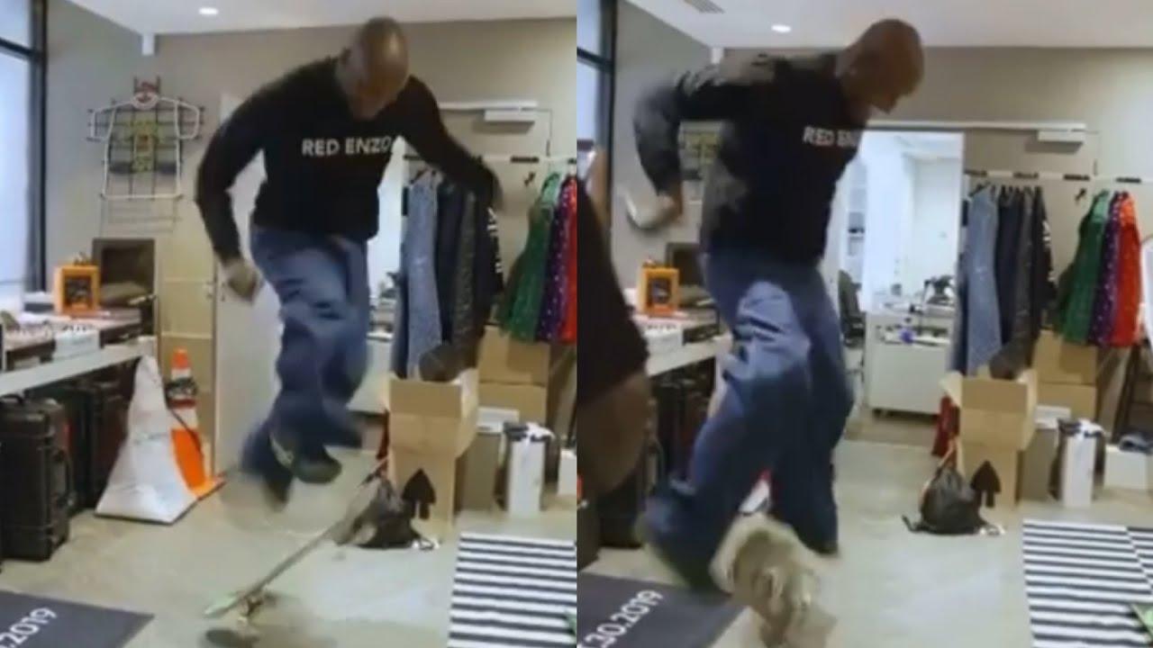 Virgil Abloh Lands Kick Flip and Pop Shove-It