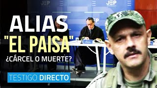 "Para alias ""El Paisa"": ¿la cárcel o la muerte? - Testigo Directo HD"
