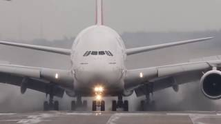 The Most Difficult Landing Of Aircraft In Extreme Conditions BRAVO PILOTS