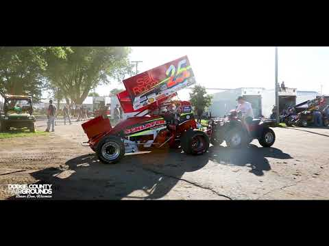 IRA Outlaw Sprint Cars at Dodge County | Wisconsin Dirt Track Racing