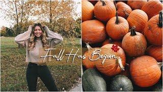 Vlogtober Day 1 // Fall Has Begun!