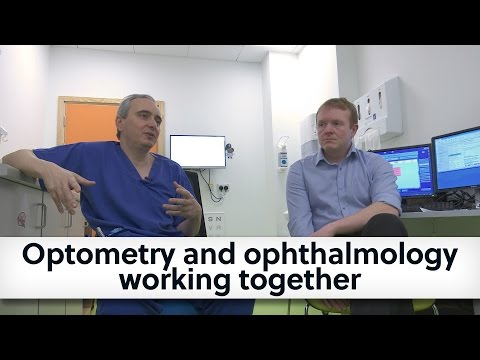 Optometry and ophthalmology working together