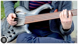 MAYONES PATRIOT MR 5 FRETLESS BASS | BassTheWorld.com