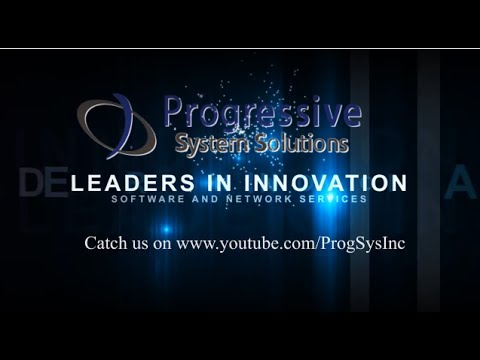 Progressive System Solutions | Product Trailer