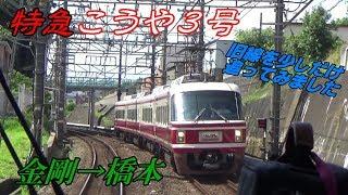 【南海電車】南海こうやの旅③