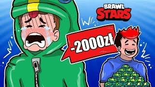 WYDAŁEM 2000 Zł NA GRĘ!....  - BRAWL STARS GILATHISS