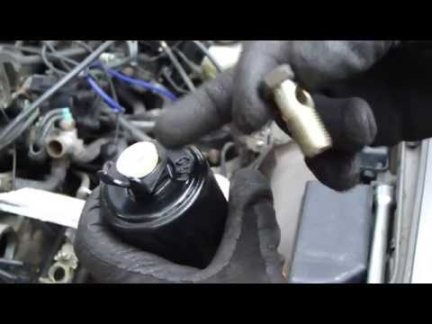 How to replace fuel filter Toyota Camry. 2.2 liter engine. Years 1991 to 2002.