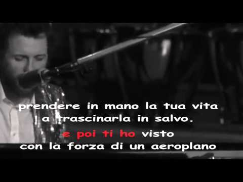 Jovanotti - A te (KARAOKE con BASE ORIGINALE)