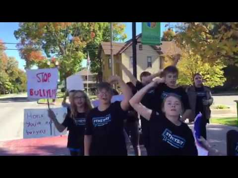 Light of the World Academy anti-bullying rally