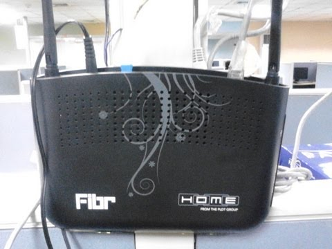 PLDT New Wireless FIBR Modem-How to Setup WiFi