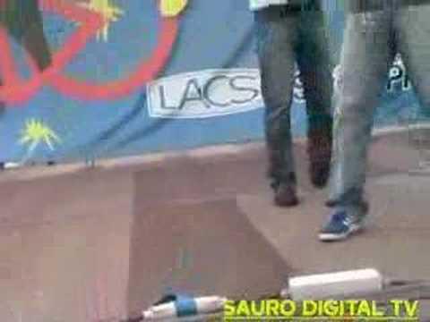 Manuel Auteri and Leandro Barsotti prove dal vivo