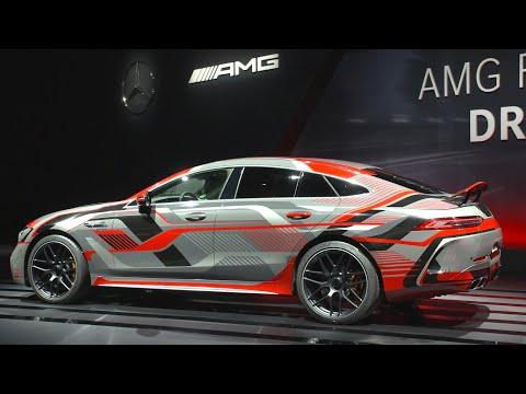 New Mercedes-AMG GT 73 (2022) – AMG 4.0 V8 Biturbo E-PERFORMANCE hybrid engine details