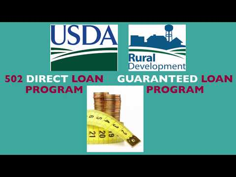 What are differences between the USDA Direct and USDA Single Family Housing Guaranteed Programs?