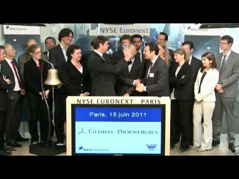 NYSE Euronext in Paris - Opening Bell Global Bioenergies - Listing on NYSE Alternext - 15 June 2011