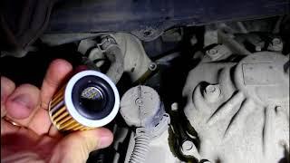 Citroen C Crosser 2,4 Ситроен Си Кроссер 2007 Замена масла и фильтра теплообменника в вариаторе