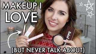 Makeup I LOVE But NEVER Talk About! // Underrated Makeup 2018!