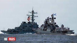 (Jun 17,2021) US Warship intercepted by 20 Russian Warships, submarines & 10 aircraft in Barents Sea