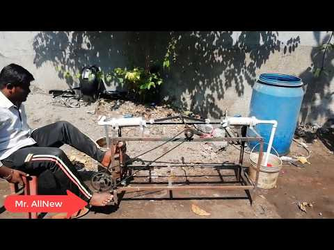 Water pump pedal operated Project By Mr. AllNew, Diploma Engineering Project