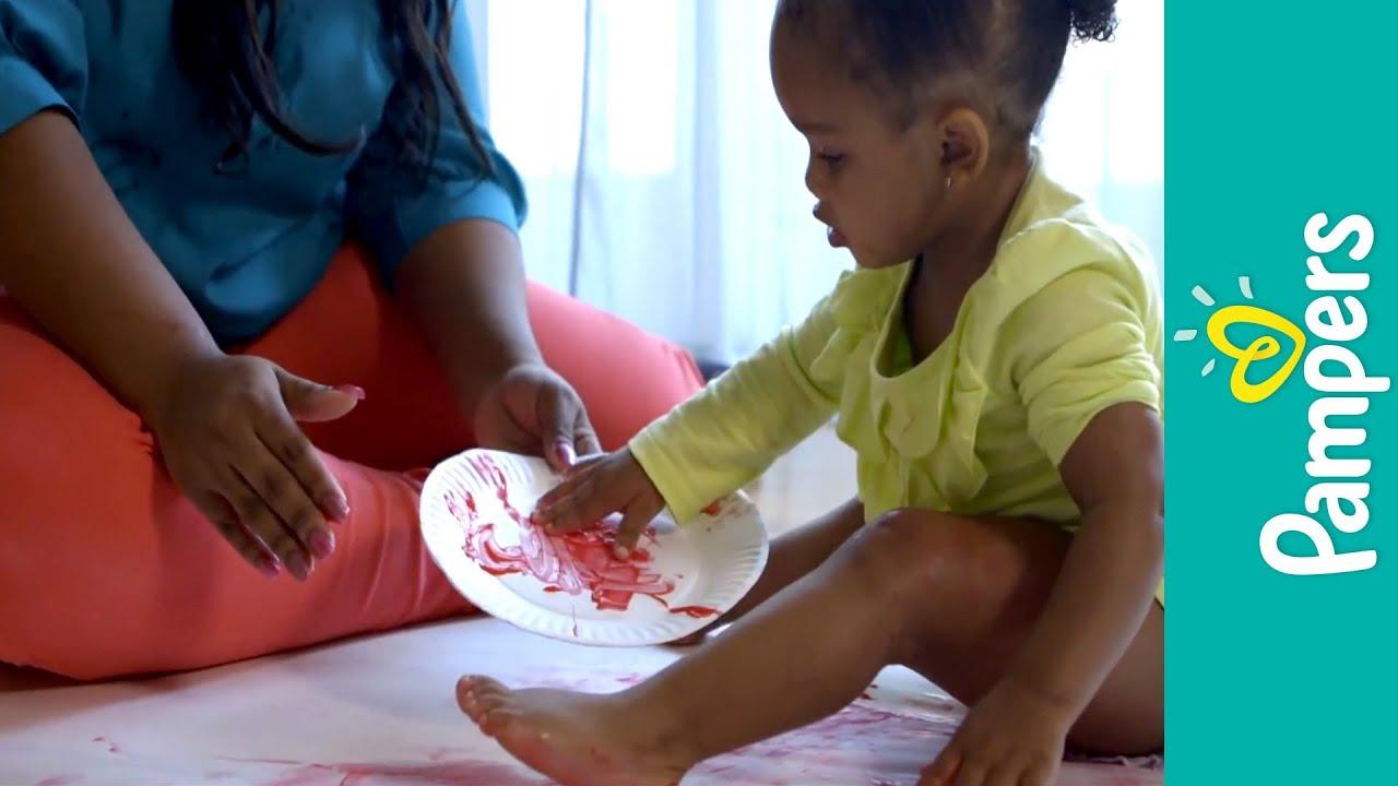 fun toddler games finger painting youtube - Toddler Painting Games