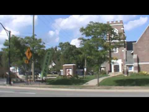 A Walk Through Downtown Farmington, MI, August 31, 2014