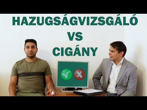 Hazugságvizsgáló vs Cigány !!!