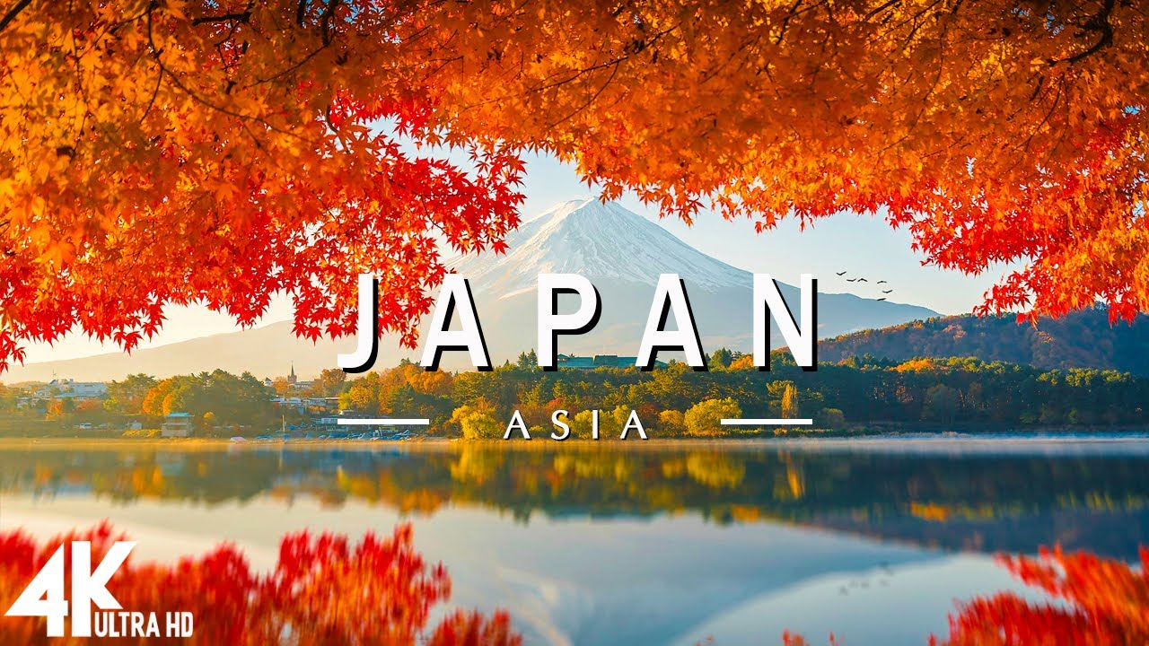 Download FLYING OVER JAPAN ( 4K UHD ) - Relaxing Music Along With Beautiful Nature Videos - 4K Video Ultra HD