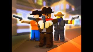 COWBOYS AGAINST SHERIFFS (Roblox Wild West Funny Moments)