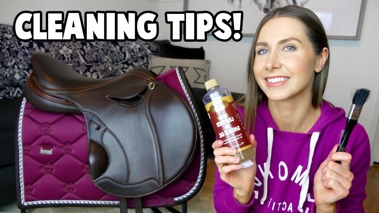 How to ACTUALLY clean a SADDLE! (Plus Q&A and exciting updates!!)