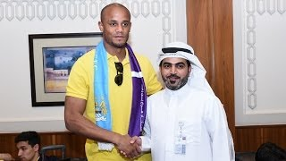 Abu Dhabi Airport welcomes Premiership Champions Manchester City FC!