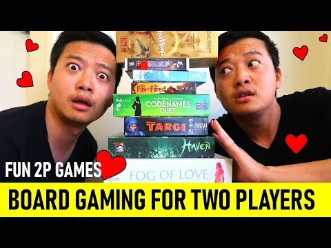 2 Player Board Games I ACTUALLY LOVE | Top Couples Games