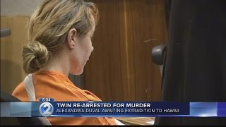 Woman rearrested for murder in twin sister's death on Maui