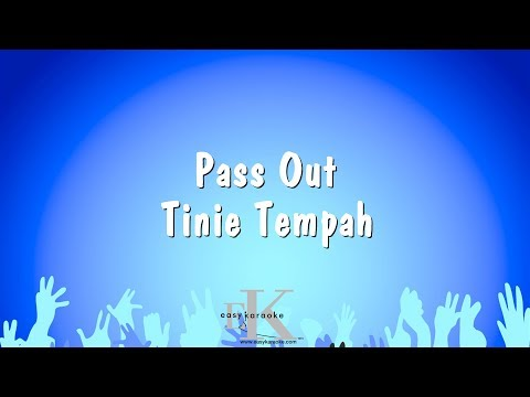 Pass Out - Tinie Tempah (Karaoke Version)