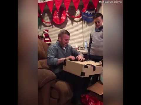 OMG! HE SAVES ALL HIS MONEY TO SURPRISE HIS DAD! AMAZING!