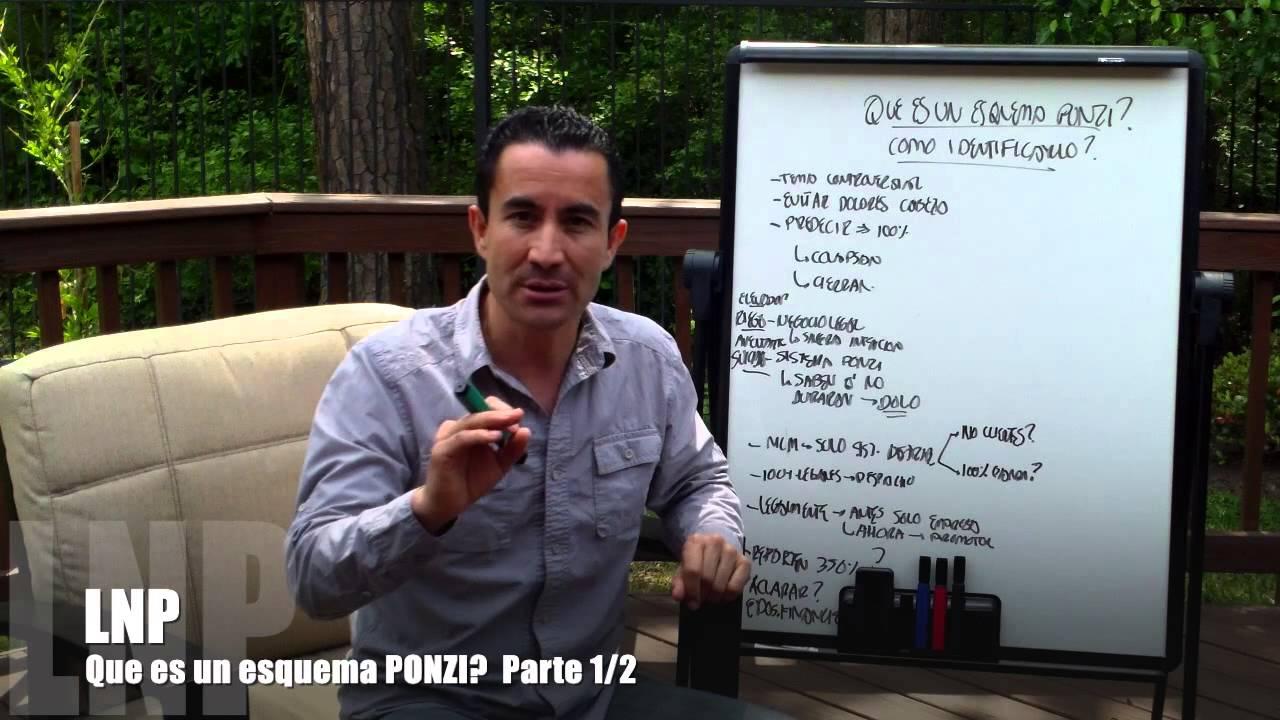 248 Que es un Esquema Ponzi ? Como Distinguirlo ? Parte 1de2 por Luis R Landeros