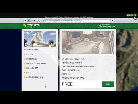 GTA Online -  How To Get Your Free CEO Office (Low Rank)