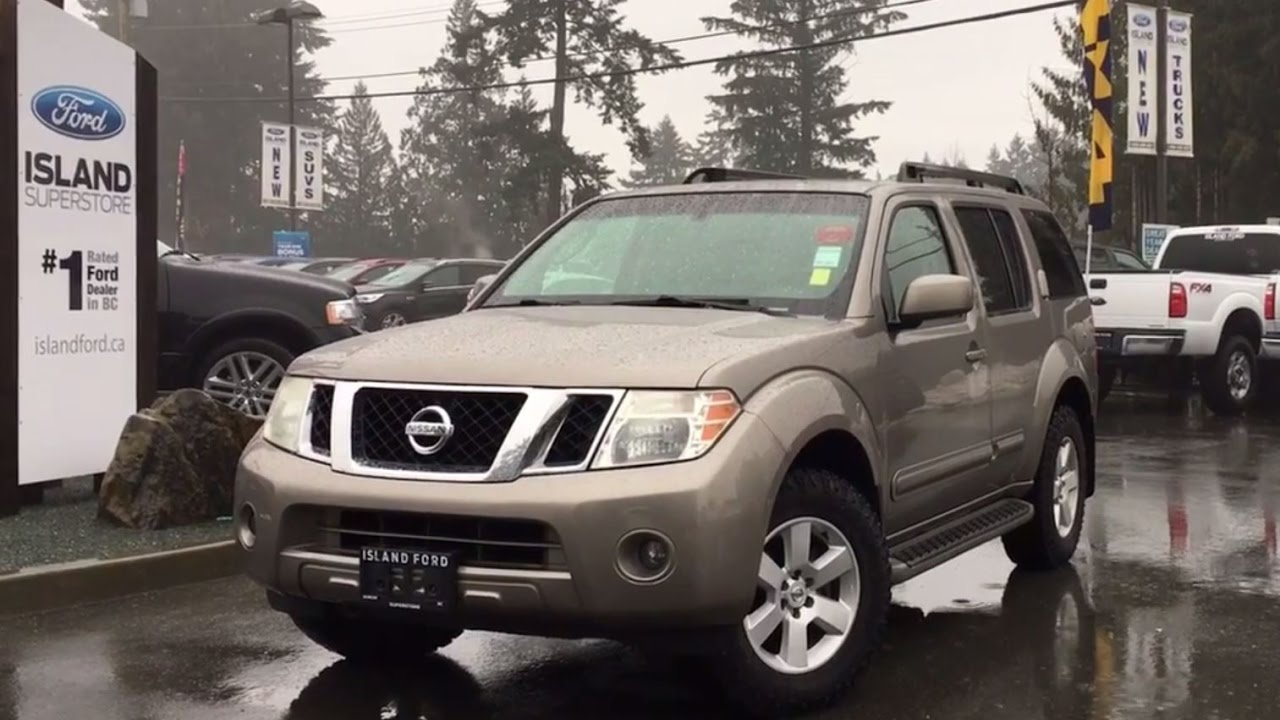 2009 nissan pathfinder 4wd se sunroof review island ford youtube 2009 nissan pathfinder 4wd se sunroof review island ford vanachro Images