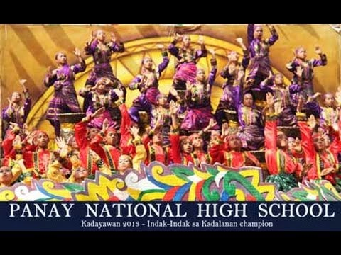 Panay National High School - Indak Indak sa Kadalanan winner -  Kadayawan Festival 2013