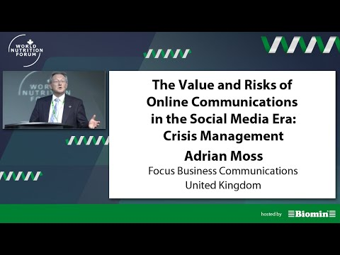 WNF 2016 - Adrian Moss - The Value and Risks of Online Communications in the Social Media Era