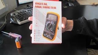 цифровой мультиметр тестер xl830l digital multimeter
